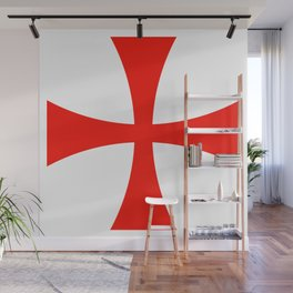 Knights Templar cross Wall Mural