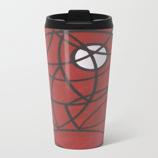 Poke a Broke Metal Travel Mug