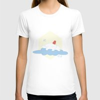 selena gomez T-shirts featuring Gomez Sleeping on a Cloud by Paul Scott (Dracula is Still a Threat)