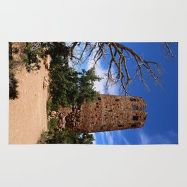 Desert View Watchtower - South Rim Grand Canyon Rug