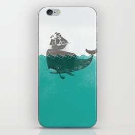 Belly of the Whale - Hipster Edition (with pirates) iPhone Skin