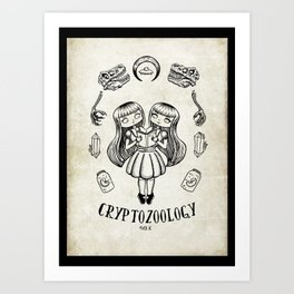 cryptozoology Art Print