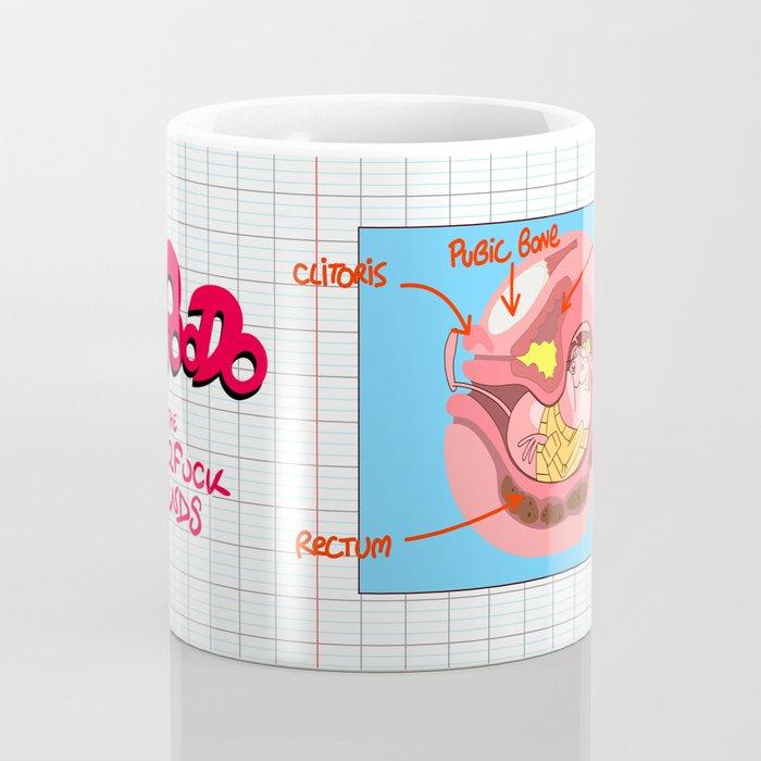 The Clitoris (Peepoodo) Coffee Mug