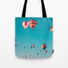 Hot Air Ballon Festival Tote Bag
