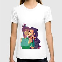 korra T-shirts featuring Korra & Asami by opgifiggifgi