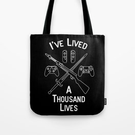 Gamer Lives Tote Bag