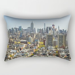 New York City from Tribeca. Rectangular Pillow