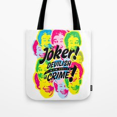 The Joker - Clown Prince of Crime Tote Bag