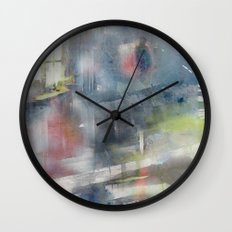 The day my father left Wall Clock