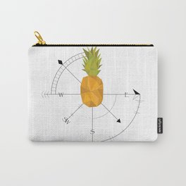 Pineapple Compass Carry-All Pouch