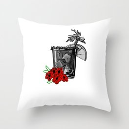 Bloody Mary Just a Girl Who Loves Bloody Marys Throw Pillow