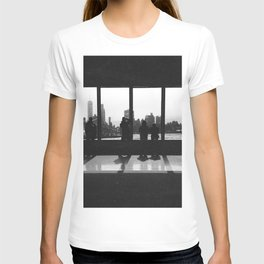 New York City Skyline Window T-shirt