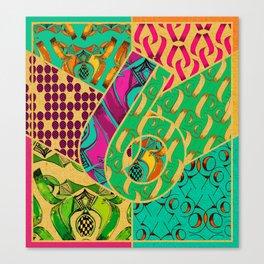 Tile 6 Canvas Print