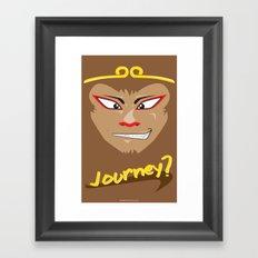 Journey? Framed Art Print