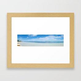 10631 Paradise Cove Framed Art Print