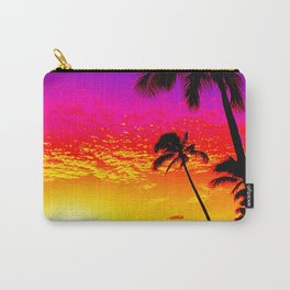 Sunset on Waikiki Carry-All Pouch