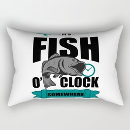 Fishing Fisherman Angler Gift Rectangular Pillow
