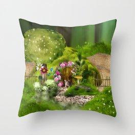 Mausi Throw Pillow