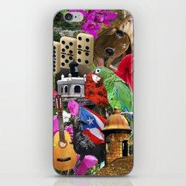 Puerto Rico - Isla del Encanto iPhone Skin