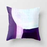 waterfall Throw Pillows featuring Waterfall by Paul Kimble