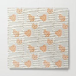 Pattern 011 Metal Print