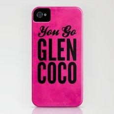 Glen Coco Pink iPhone (4, 4s) Slim Case