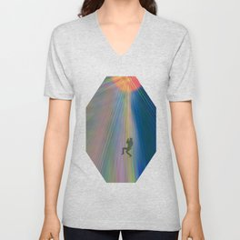 reach out and touch confidence Unisex V-Neck