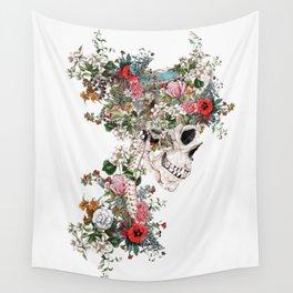 Skull Queen Wall Tapestry