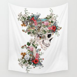 Skull Queen Wall Tapestry