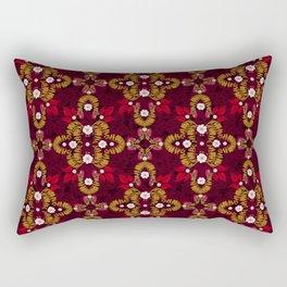 Mirror of Autumn (Garnet) Rectangular Pillow