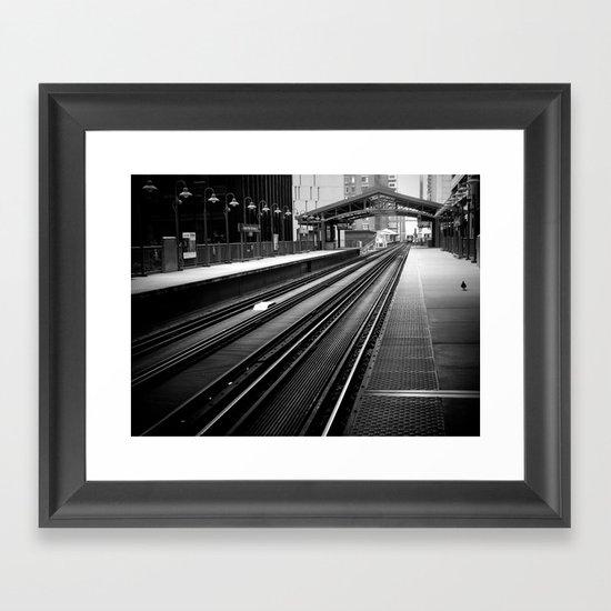 Shoulder Framed Art Print