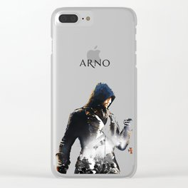 Arno Dorian, Double exposure Clear iPhone Case
