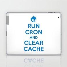 Run Cron and Clear Cache Laptop & iPad Skin
