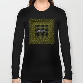 I Have a Holodiction - Holodeck Long Sleeve T-shirt