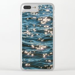 Wade with Me Clear iPhone Case