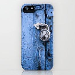 Indian Padlock iPhone Case