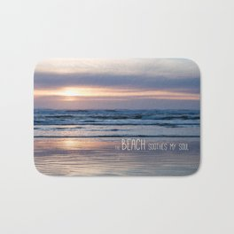Beach Glow Soothes Soul Bath Mat