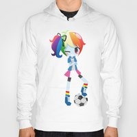 mlp Hoodies featuring MLP - Rainbow Dash by Choco-Minto