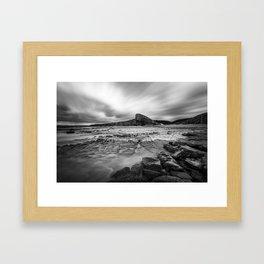 Nash Point Framed Art Print
