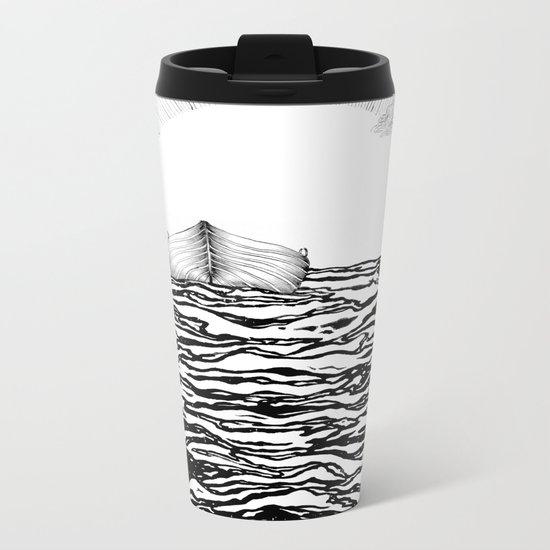 Abandoned to the Sun Metal Travel Mug