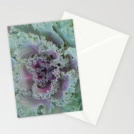 Cabbage Fractal Stationery Cards