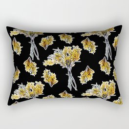 Beautiful Australian native Floral Print Rectangular Pillow