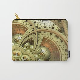 Industrial Steam Punk Cogwheels Carry-All Pouch
