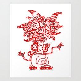 Turlupin Art Print