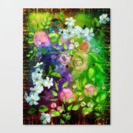 Floral Fantasy 8 Canvas Print