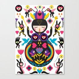 Rainbow Queen Canvas Print