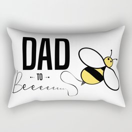 Dad To Be Gifts From Bump Fathers Day Rectangular Pillow