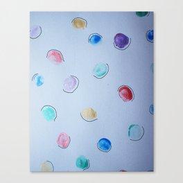 thumbprints. Canvas Print