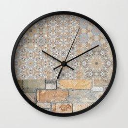 The Alamo Wall Collage 6396 Wall Clock