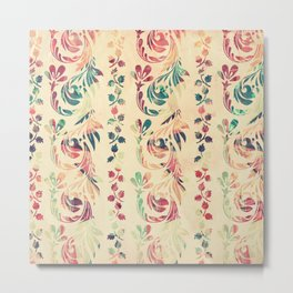 Another floral pattern Metal Print